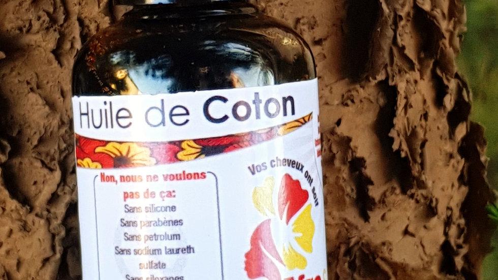 Huile de graine de coton/ Cotton seed oil