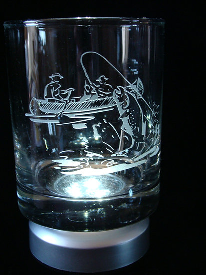 4 Sand Carved Etched Glass Designs To Choose From.