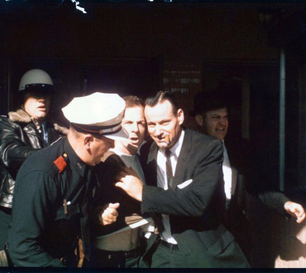Oswald's Arrest Following the Murder of Officer J.D. Tippit