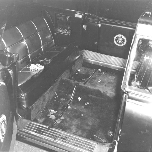 JFK's Limousine After Oswald's Ambush