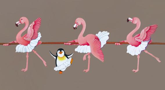 Ballerina Birds
