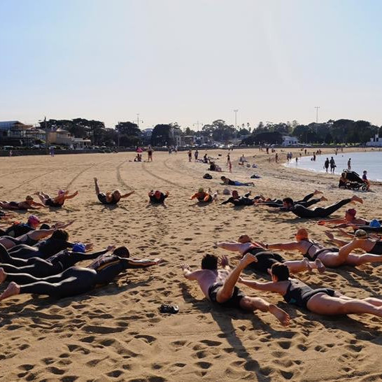 Open Water Swim Groups at Williamstown Beach