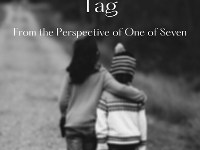 The Writerly Siblings Tag (From the Perspective of One of Seven)