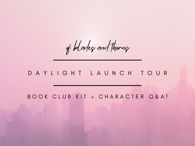 Book Club Kit + Character Q&A (Daylight Launch Tour)