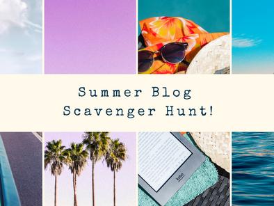 Summer Blog Scavenger Hunt (Stop #1)
