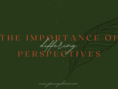 The Importance of Differing Perspectives