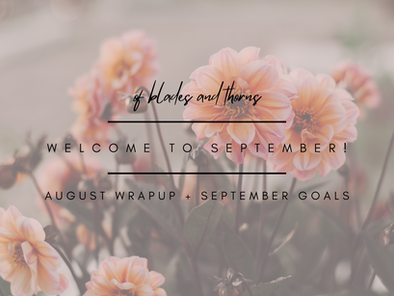 Welcome to September!