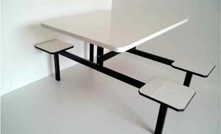 mesa refeitorio 4 lugares