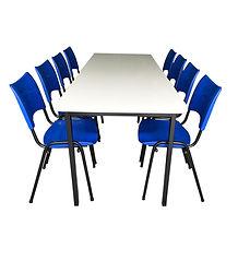 mesa para refeitório monobloc