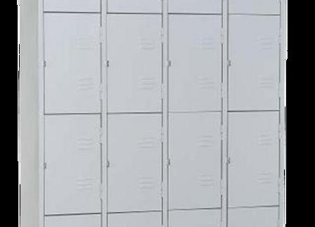 Armário para Vestiário 16 portas pequenas