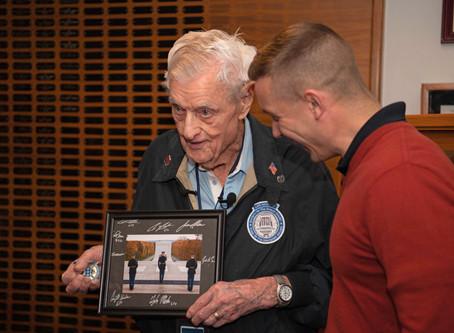 Veteran finally gets his plaque