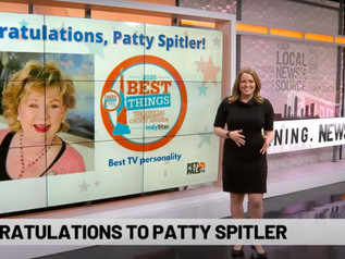 "Patty Spitler talks about her recent ""Best TV Personality"" honor"