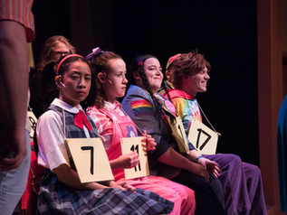 """How do you spell 'hilarious'?  Go see the """"25th Annual Putnam County Spelling Bee"""""""
