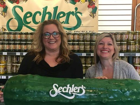 Visit Indiana's famous pickle factory