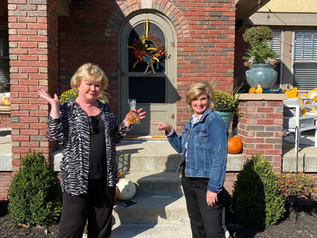 Fab front porch makeovers & fall recipes!
