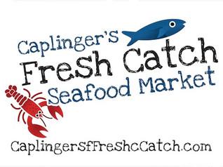 Mouthwatering shrimp dish from Caplinger's