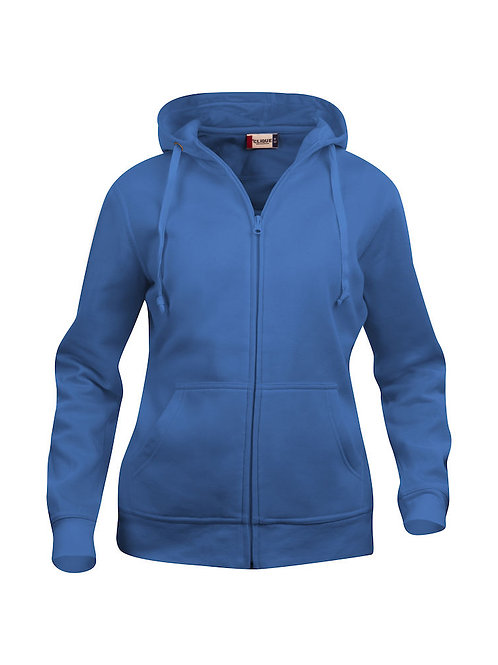 Basic Hoody Full Zip Dame