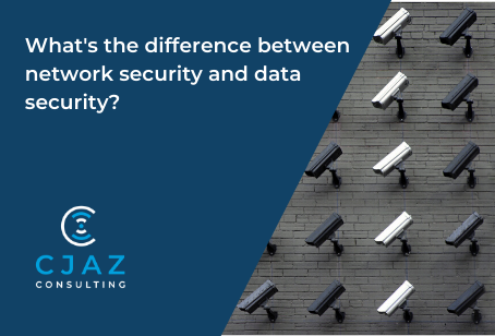 What is the difference between Network and Data Security?