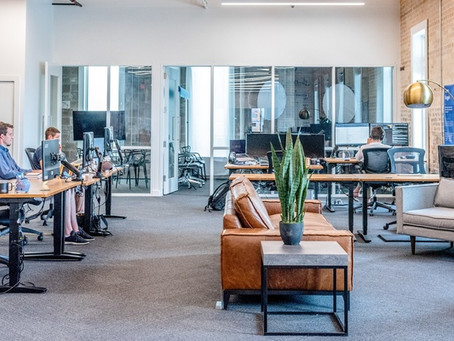 Return to work advice for office-based staff.