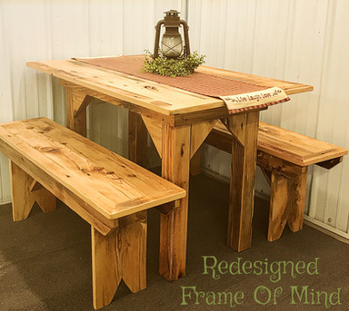 Reclaimed Hemlock Table