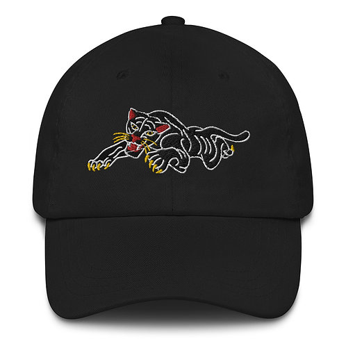 Panther embroidered Dad hat