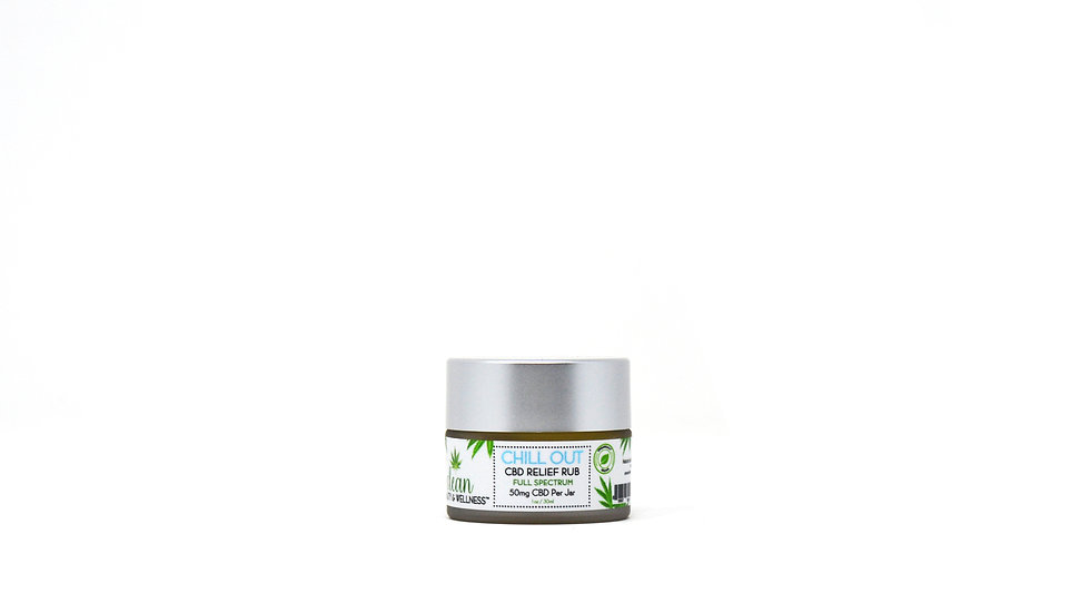 CHILL OUT - CBD Freeze Relief Rub