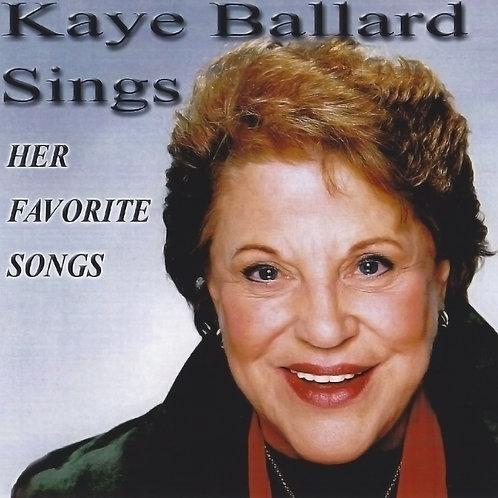 Kaye Ballard Sings Her Favorite Songs