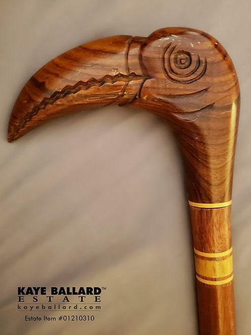 Chaverri Brothers of Costa Rica Toucan Head Cane