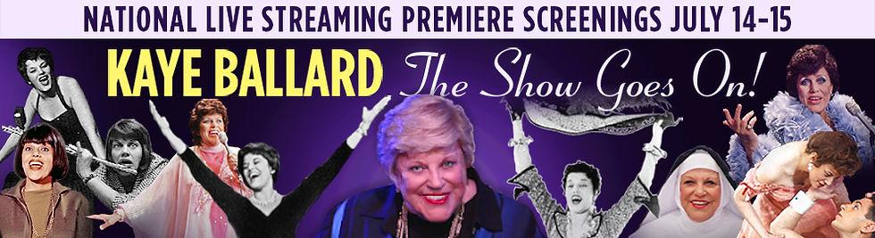 Kaye Ballard: The Show Goes On! header image