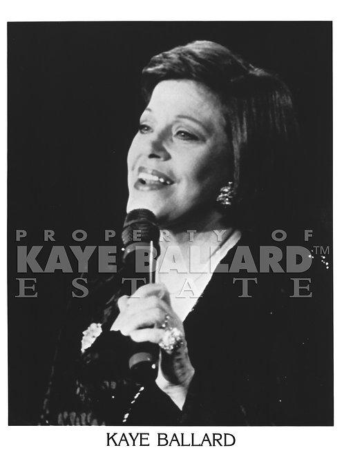 Kaye Ballard Singing