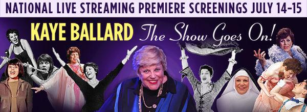 Kaye Ballard: The Show Goes On! banner image