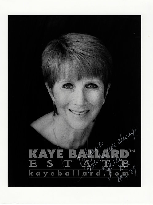 Julie Harris signed photo