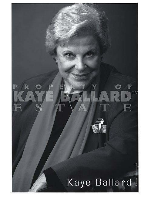 Kaye Ballard Black & White Publicity Photo
