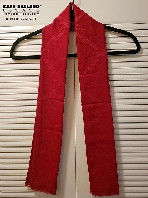 Lonchamp Silk & Wool Scarf
