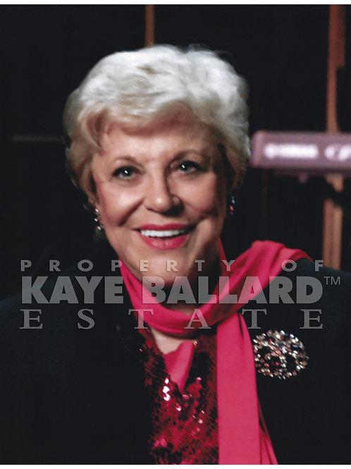 Kaye Ballard Publicity Photo
