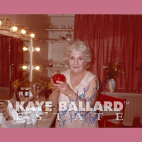 Maureen Stapleton, signed photo