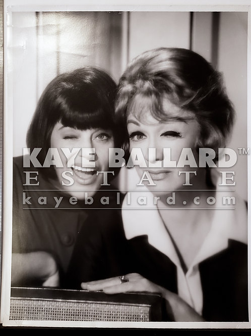 "Oversize Photo: Kaye Ballard and Eve Arden in ""The Mothers-In-Law"" (Wink)"