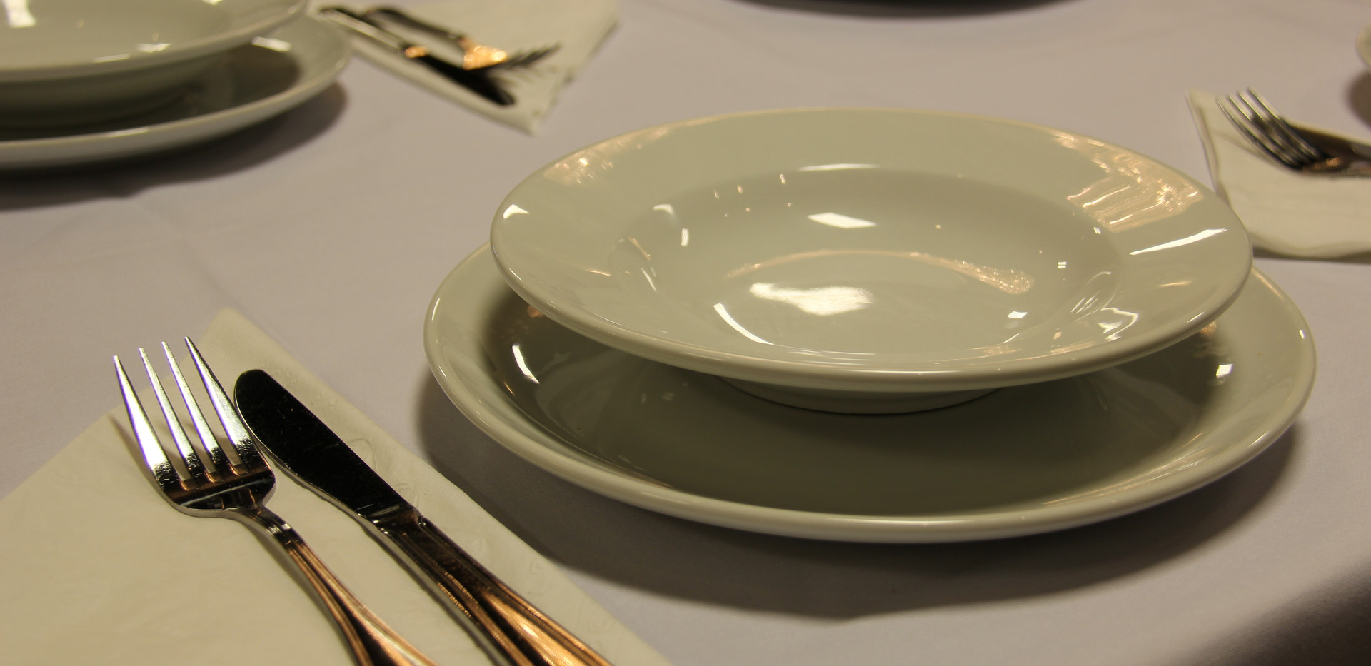 Plates and Silverware Provided