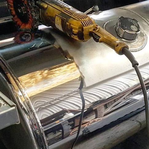 Fuel tank polishing