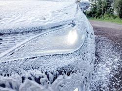 Vehicle shampoo washing