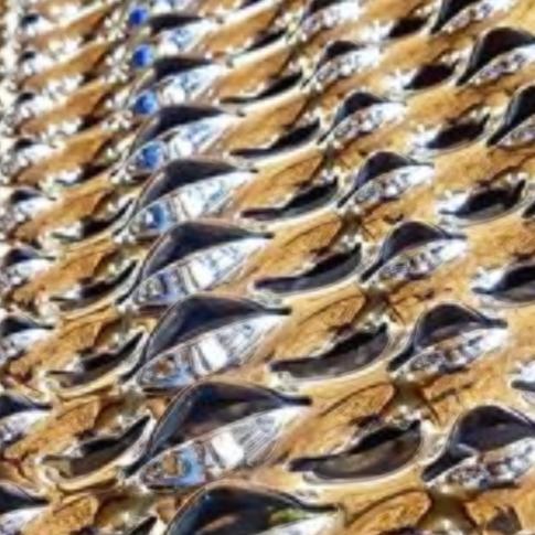 satin shiny steps