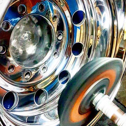 Rim polishing