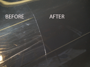 Scratch removal