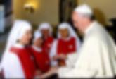 Hermanas con el Papa