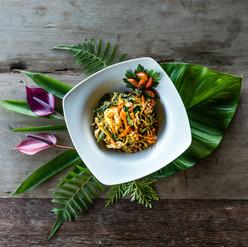 Pad Thaï aux légumes