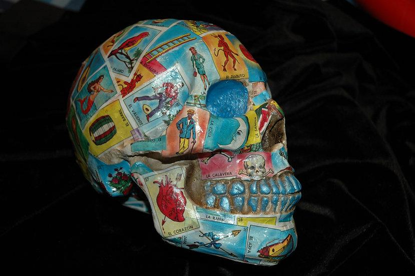"""""""Loteria"""" skull"""