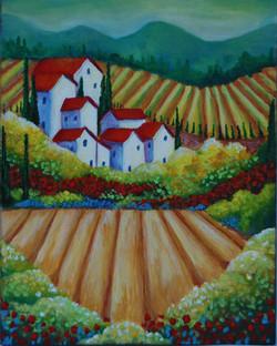 Italian Landscape - SOLD