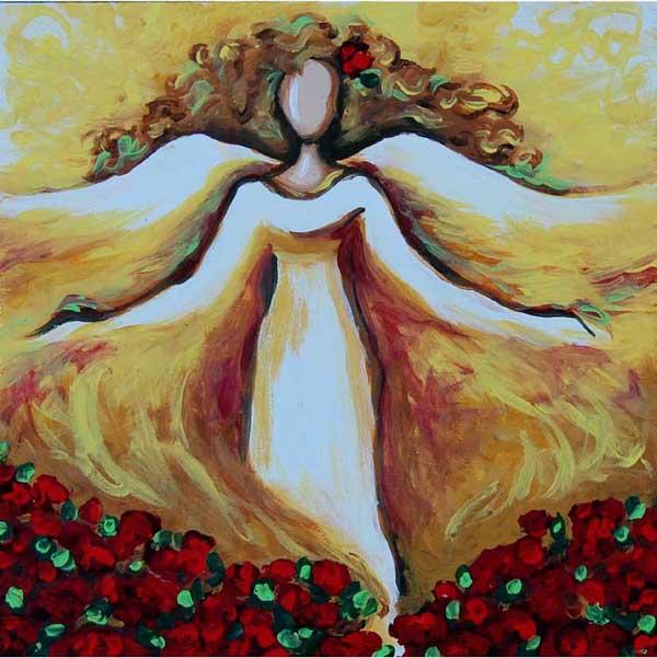 """Garden Angel"" - SOLD"
