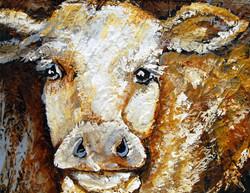 Impasto Cow - SOLD