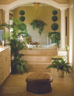 Bathroom Topiaries
